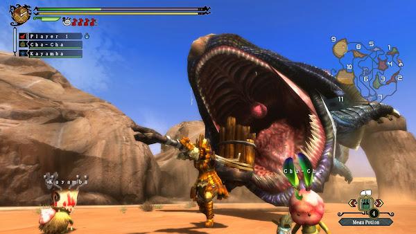 Monster Hunter 3 Ultimate + Update Wii U ROM Screenshots #4