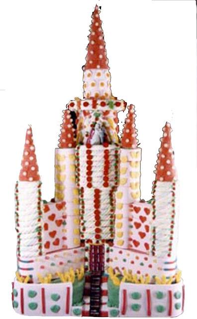 Castillo Pastel de chuches Esdiver