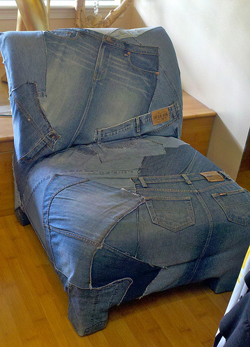 Ashbee Design Denim Blue Jeans Furniture
