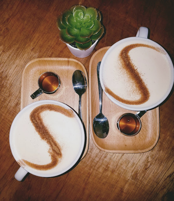 The Coventry, South Melbourne, chai latte