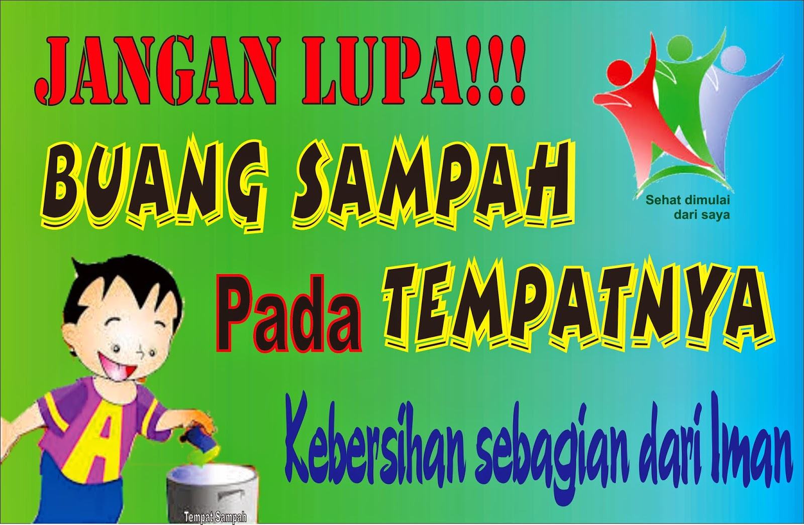 Sd Negeri 48 Tanjung Pandan Gambar Slogan Pendidikan
