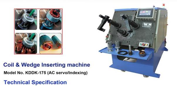 Coil & Wedge Inserting Machine Image