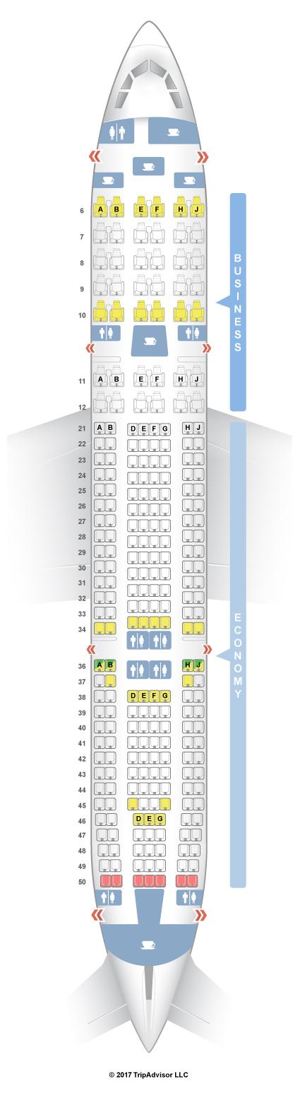 seat guru airbus a330 garuda indonesia