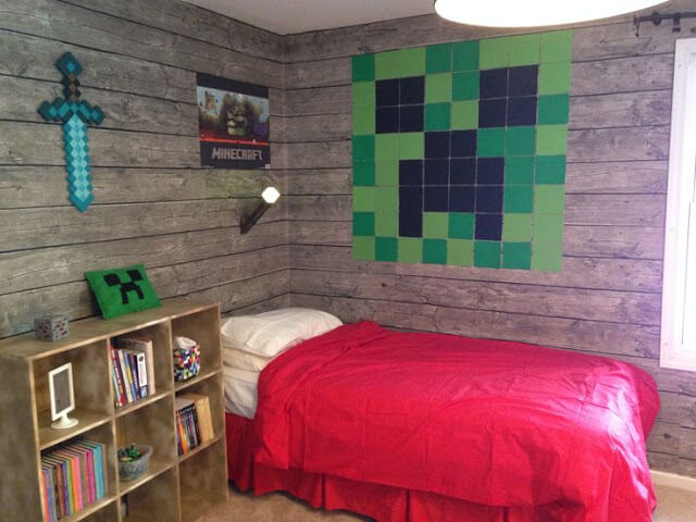 10 creative ways minecraft bedroom decor ideas in real life