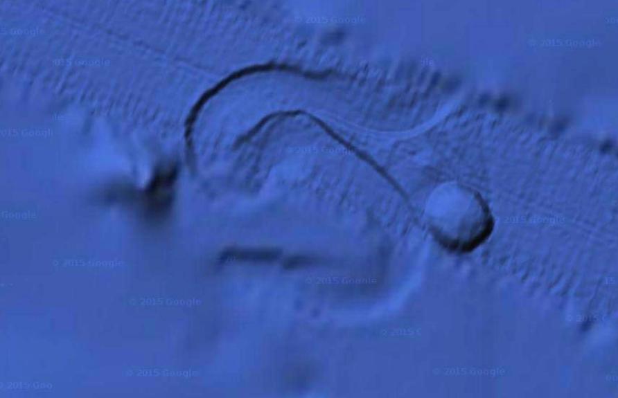 UFO SIGHTINGS DAILY: 2.5 Mile Wide UFO Moving Across Ocean ... on google oceans 3d, google earth atlantis coordinates, google earth finds atlantis, google earth sea floor, google earth ocean topography, google earth ocean map, google ocean atlantis,