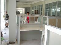 Interior Semarang - Meja Sekat Kantor