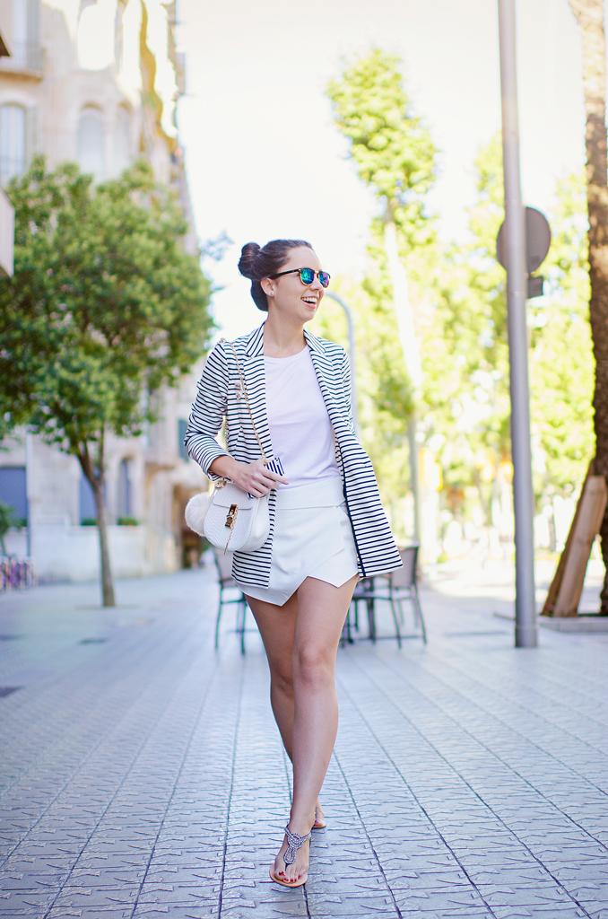 Cómo combinar las rayas en tu look de verano