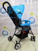 Belakang Blue Does DS209 Kereta Dorong Bayi