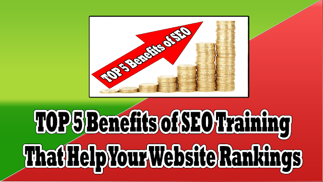 TOP 5 Benefits of SEO Training Courses That Help Your Website Rankings
