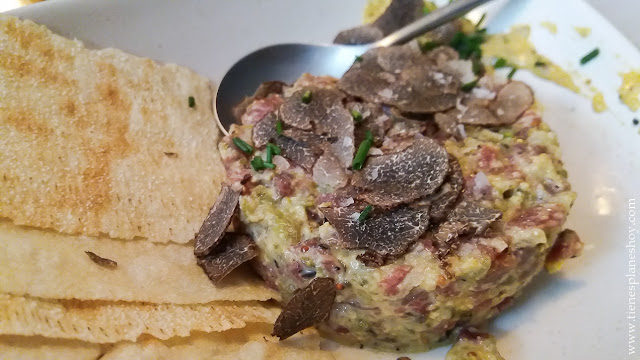 Tartar vaca taberna Madrid recreo espartinas