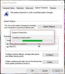 Cara Membuat Restore Point Di Windows 10