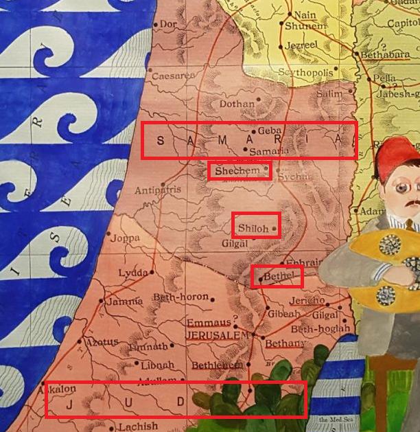 Lebanese politician tweets map of 'Palestine