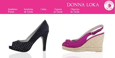Oferta de Zapatos Donna Loka