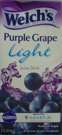 Diets And Calories Welch S Purple Grape Light Juice Drink