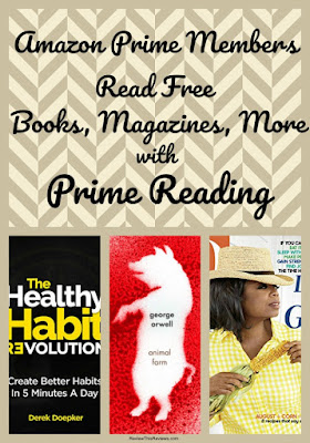 If you love to read, Prime Reading is an Amazon Prime feature that you won't want to miss!