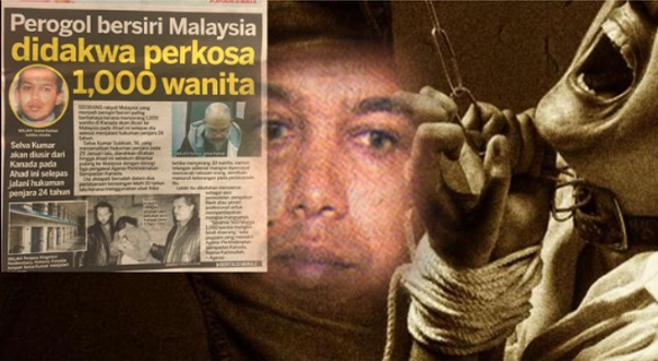 Menakuttkan!!!Ini Biodata Lengkap Selva Kumar Subbiah Perogol Bersiri Malaysia Yang akan Pulang Ke Malaysia.Sudah 1000 Wanita Sudah Menjadi Mangsa...Berhati lah Semua Wanita..