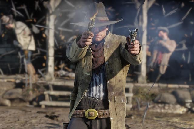 الكشف رسميا عن المساحة التي يجب إفراغها لتثبيت لعبة Red Dead Redemption 2 على جهاز PS4 و حجم النسخ النهائي ، رقم كبيرا جدا ..