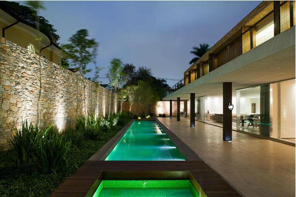Arquited piscinas de raia for Piscinas dentro de casa