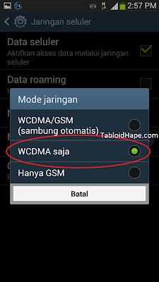 Cara Merubah Jaringan Android 2G (EDGE) Menjadi 3G (HSPDA)