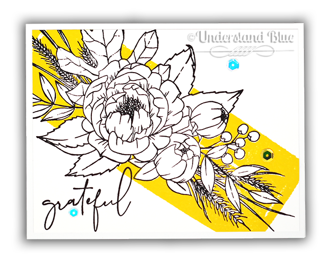 Grateful for Everything Modern card by Understand Blue
