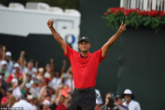 Tiger Woods wins for the first time since 2013 to claim 2018 USPGA Tour Championship