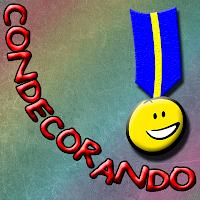 Foto del logo condecorando