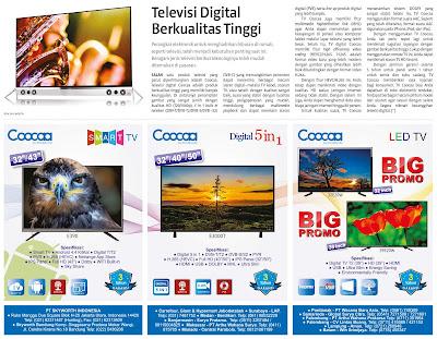 Iklan cetak TV Coocaa Skyworth Indonesia oleh Jasa desain grafis online Hakameru - Jasa layout iklan cetak- Jasa pembuatan print ad