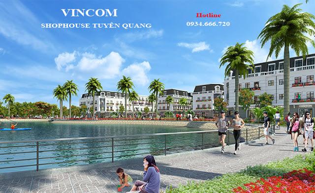 Sân chơi vọng cảnh hồ - Shophouse Tuyên Quang