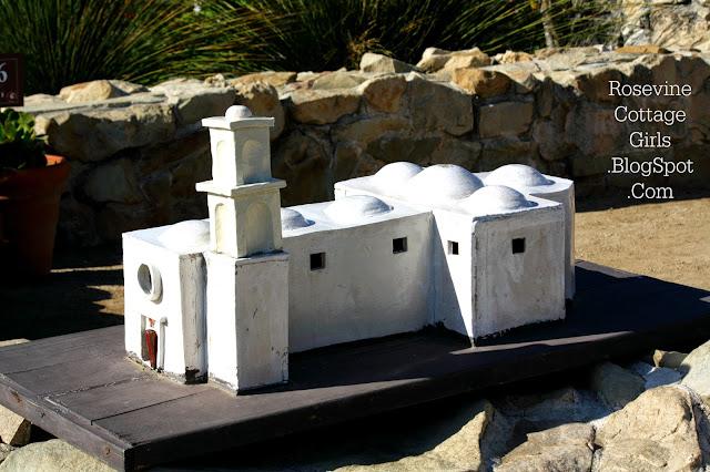 Model of the Mission San Juan Capistrano