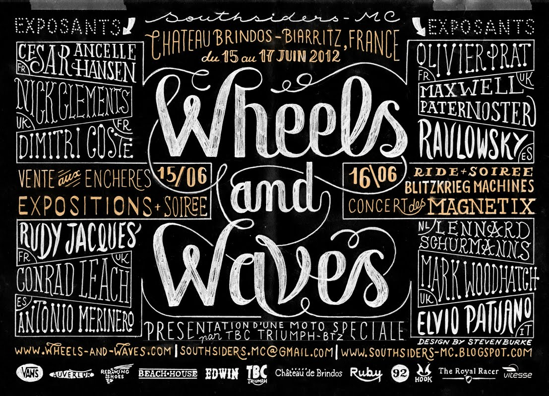 dwrenched kustom kulture and crazy bikes event wheels and waves 2013. Black Bedroom Furniture Sets. Home Design Ideas