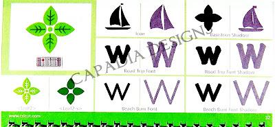 Capadia Designs: Creative Memories Traveler Cricut Cartridge