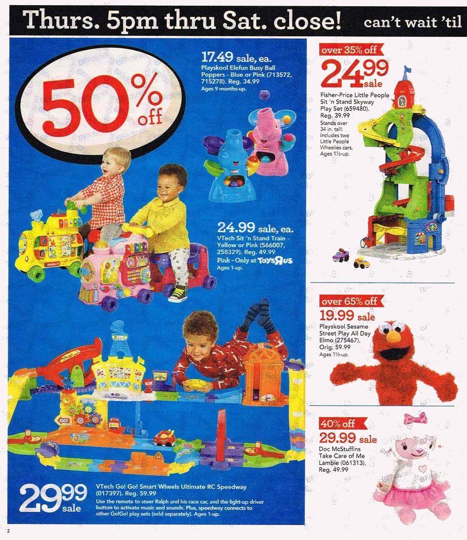Toys \'R\' Us Black Friday Deals 2016