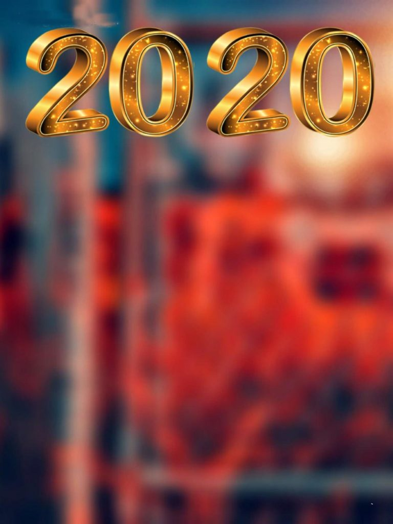 Happy new year photo editing background 2020