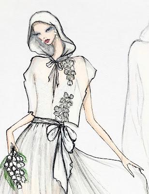 Les robes de mariées de FANNY LIAUTARD