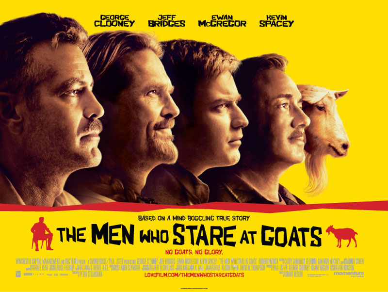 A Constantly Racing Mind...: The Men Who Stare At Goats