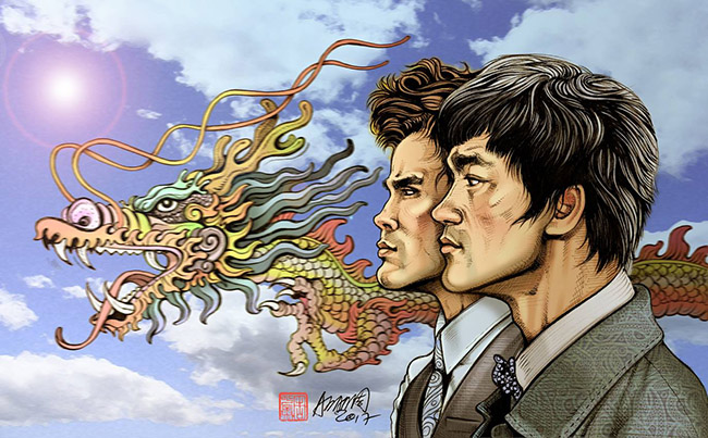 Adam Chow (Hong Kong) - Bruce Lee art collection @ YellowMenace