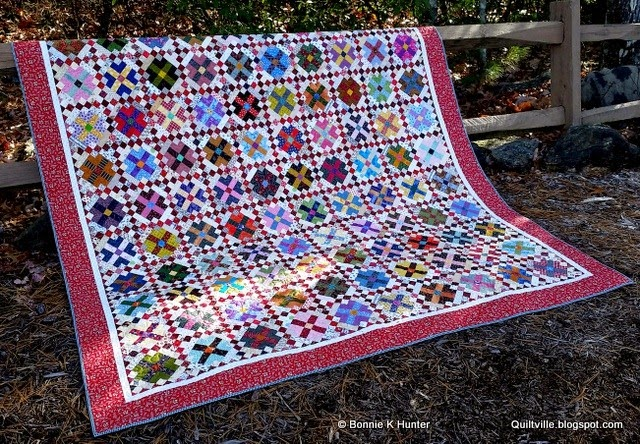 My Quilty World Garden Party Summary