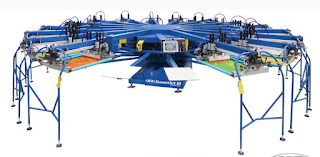 Automatic T-Shirt Screen Printing Machine- M&R Gauntlet III