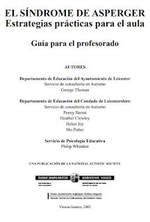 EL SÍNDROME ASPERGER. ESTRATEGIAS PRÁCTICAS PARA EL AULA