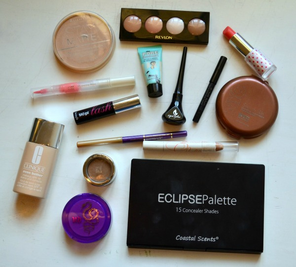 maquillaje base clinique coastal scents eclipse corrector rimmel stay matte nyc sunny bronzer