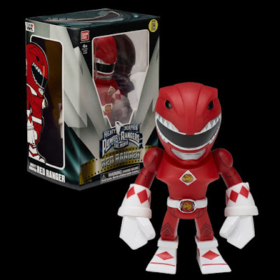 San Diego Comic-Con 2016 Exclusive Mighty Morphin Power Rangers Movie Red Ranger Tokyo Vinyl Figure by Touma x Bandai