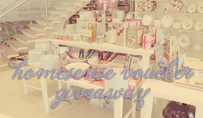 homesense voucher competition