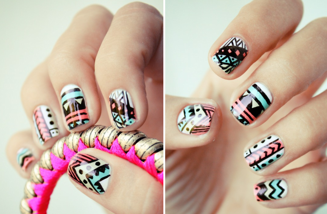 Funky nail ideas prinsesfo Image collections