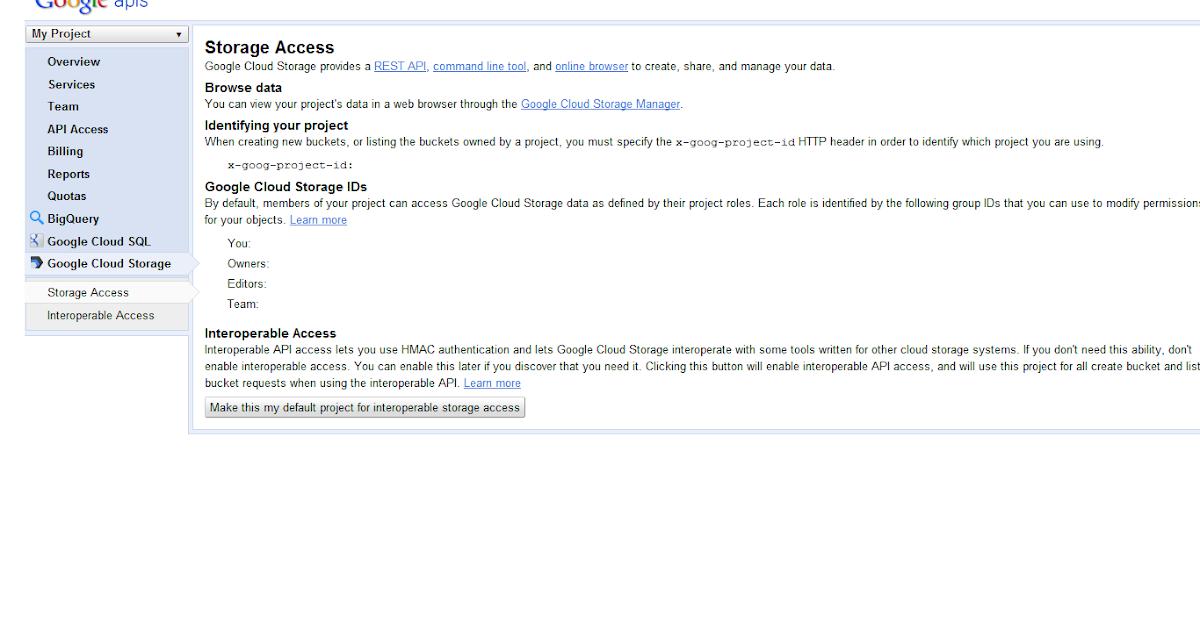 Google Cloud Storage Tutorial: Google Cloud Storage Using Boto