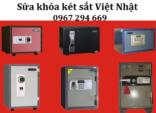 Dịch vụ sửa khóa két sắt Việt Nhật uy tín chuyên nghiệp