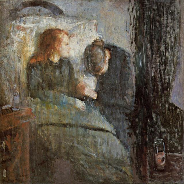 Edward Munch Hasta Çocuk