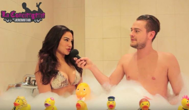 Milla (Les Princes de l'Amour 3) dans le bain de Jeremstar - INTERVIEW