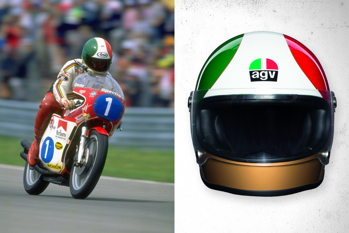 Riding Gear Agv X3000 Legends Helmets Return Of The