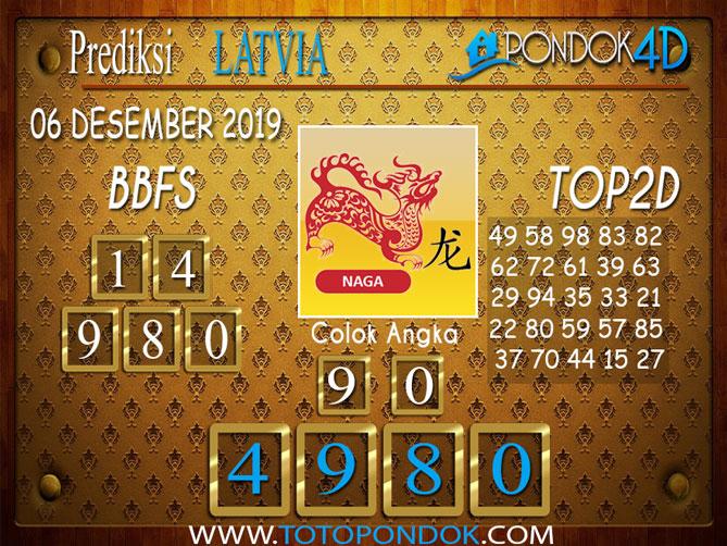 Prediksi Togel LATVIA POOLS PONDOK4D 06 DESEMBER  2019