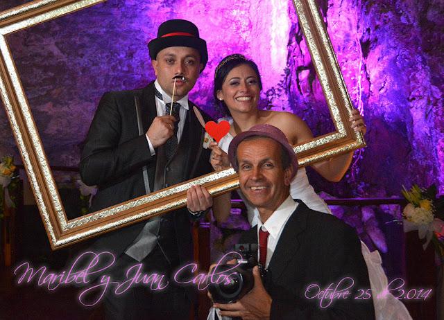 Foto cabina para bodas en Bahia (Bogotá)